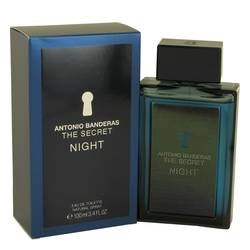 The Secret Night Cologne by Antonio Banderas, 100 ml Eau De Toilette Spray for Men