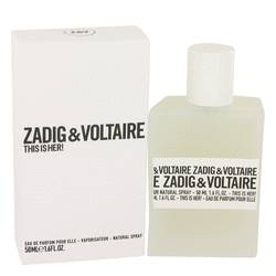 This Is Her Perfume by Zadig & Voltaire, 50 ml Eau De Parfum Spray for Women