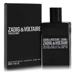 This Is Him Cologne by Zadig & Voltaire, 50 ml Eau De Toilette Spray for Men