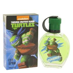 Teenage Mutant Ninja Turtles Leonardo Cologne by Marmol & Son, 3.4 oz Eau De Toilette Spray for Men tmntleon