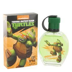 Teenage Mutant Ninja Turtles Michelangelo Cologne by Marmol & Son, 3.4 oz Eau De Toilette Spray for Men tmntmial