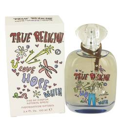 True Religion Love Hope Denim Perfume by True Religion, 3.4 oz Eau De Parfum Spray for Women