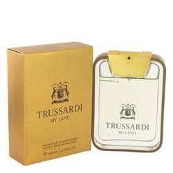 Trussardi My Land Cologne by Trussardi, 100 ml Eau De Toilette Spray for Men