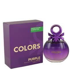 United Colors Of Benetton Purple Perfume by Benetton, 80 ml Eau De Toilette Spray for Women
