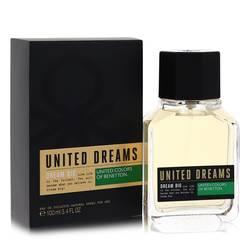 United Dreams Dream Big Cologne by Benetton, 100 ml Eau De Toilette Spray for Men