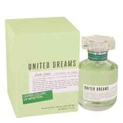 United Dreams Live Free Perfume by Benetton, 80 ml Eau De Toilette Spray for Women from FragranceX.com