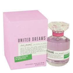 United Dreams Love Yourself Perfume by Benetton, 80 ml Eau De Toilette Spray for Women