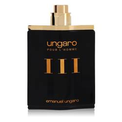 Ungaro Iii Cologne by Ungaro, 100 ml Eau De Toilette Spray (Tester) for Men