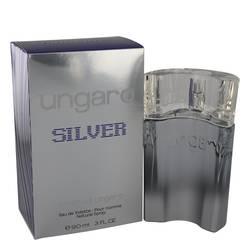 Ungaro Silver Cologne by Emanuel Ungaro, 3 oz Eau De Toilette Spray for Men