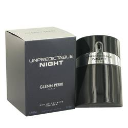 Unpredictable Night Cologne by Glenn Perri, 100 ml Eau De Toilette Spray for Men