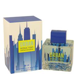 Urban Seduction Blue Cologne by Antonio Banderas, 3.4 oz Eau De Toilette Spray for Men