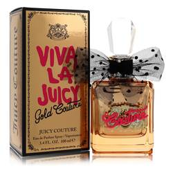 Viva La Juicy Gold Couture Perfume by Juicy Couture, 100 ml Eau De Parfum Spray for Women from FragranceX.com