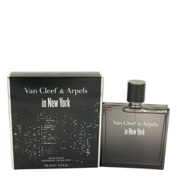 Van Cleef In New York Cologne by Van Cleef & Arpels, 125 ml Eau De Toilette Spray for Men