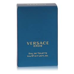 Versace Eros Mini by Versace, 5 ml Mini EDT for Men from FragranceX.com