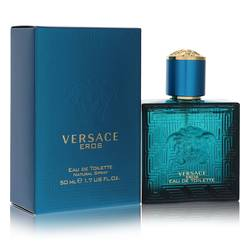 Versace Eros Cologne by Versace, 50 ml Eau De Toilette Spray for Men from FragranceX.com
