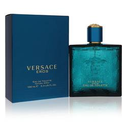 Versace Eros Cologne by Versace, 100 ml Eau De Toilette Spray for Men from FragranceX.com