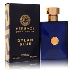 Versace Pour Homme Dylan Blue Cologne by Versace, 100 ml Eau De Toilette Spray for Men from FragranceX.com