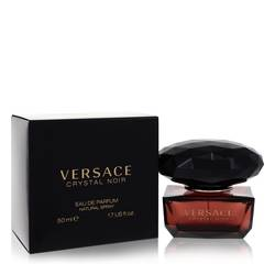 Crystal Noir Perfume by Versace, 50 ml Eau De Parfum Spray for Women