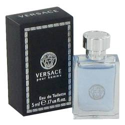 Versace Pour Homme Mini by Versace, 5 ml Mini EDT for Men from FragranceX.com