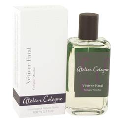 Vetiver Fatal Cologne by Atelier Cologne, 100 ml Pure Perfume Spray for Men from FragranceX.com