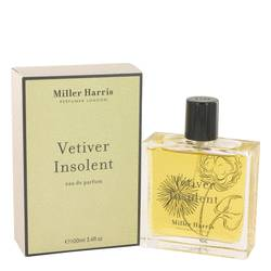 Vetiver Insolent Perfume by Miller Harris, 3.4 oz Eau De Parfum Spray for Women
