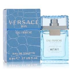 Versace Man Cologne by Versace 0.17 oz Mini Eau Fraiche