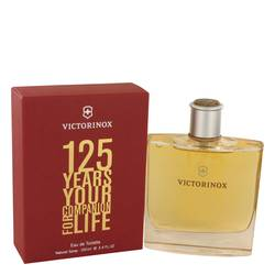 Victorinox 125 Years Cologne by Victorinox, 100 ml Eau De Toilette Spray (Limited Edition) for Men