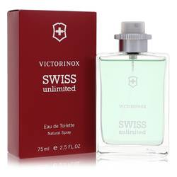 Swiss Unlimited Cologne by Victorinox 2.5 oz Eau De Toilette Spray
