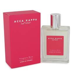 Virginia Rose Perfume by Acca Kappa, 3.3 oz Eau De Cologne Spray for Women