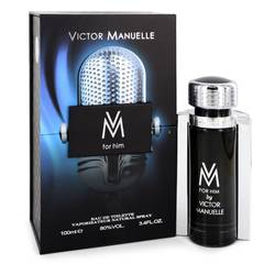 Vm Cologne by Victor Manuelle, 3.4 oz Eau De Toilette Spray for Men