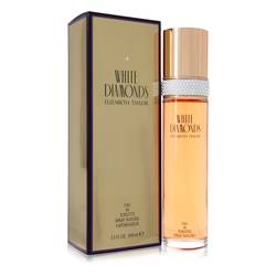 White Diamonds Perfume by Elizabeth Taylor 3.3 oz Eau De Toilette Spray