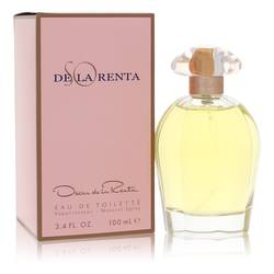 So De La Renta Perfume by Oscar de la Renta 3.4 oz Eau De Toilette Spray