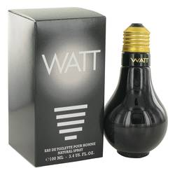 Watt Black Cologne by Cofinluxe, 100 ml Eau De Toilette Spray for Men