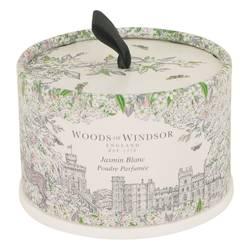 White Jasmine Perfume by Woods of Windsor 3.5 oz Dusting Powder (unboxed)