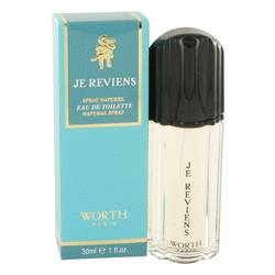 Je Reviens Perfume by Worth 1 oz Eau De Toilette Spray