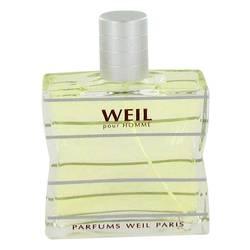 Weil Pour Homme Cologne by Weil 3.4 oz Eau De Toilette Spray (Tester)