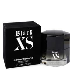Black Xs Cologne by Paco Rabanne 1.7 oz Eau De Toilette Spray