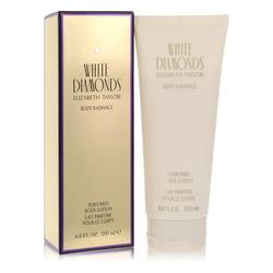 White Diamonds Perfume by Elizabeth Taylor 6.8 oz Body Lotion