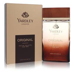 Yardley Original Cologne by Yardley London, 3.4 oz Eau De Toilette Spray for Men
