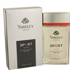 Yardley Sport Cologne by Yardley London, 3.4 oz Eau De Toilette Spray for Men