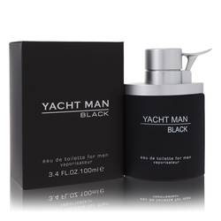 Yacht Man Black Cologne by Myrurgia, 100 ml Eau De Toilette Spray for Men from FragranceX.com