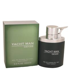 Yacht Man Dense Cologne by Myrurgia, 100 ml Eau De Toilette Spray for Men