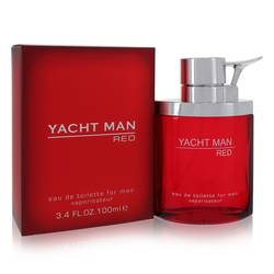 Yacht Man Red Cologne by Myrurgia, 100 ml Eau De Toilette Spray for Men from FragranceX.com