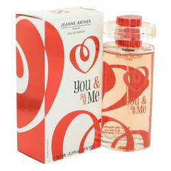 You & Me Perfume by Jeanne Arthes, 100 ml Eau De Parfum Spray for Women