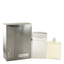 Zippo Original Cologne by Zippo, 3.4 oz Eau De Toilette Spray Refillable for Men