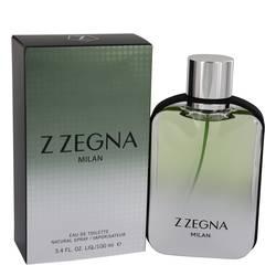 Z Zegna Milan Cologne by Ermenegildo Zegna, 3.4 oz Eau De Toilette Spray for Men