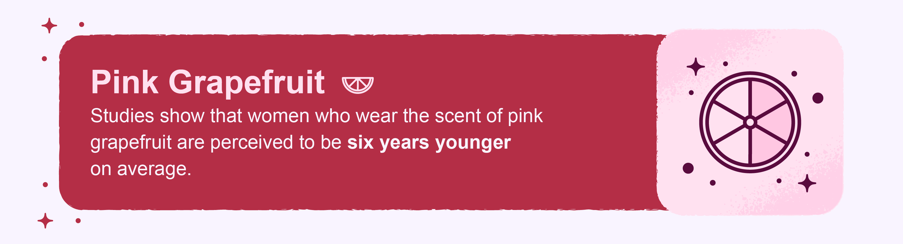 pink grapefruit scent fact