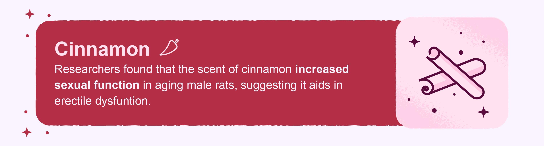 cinnamon scent fact