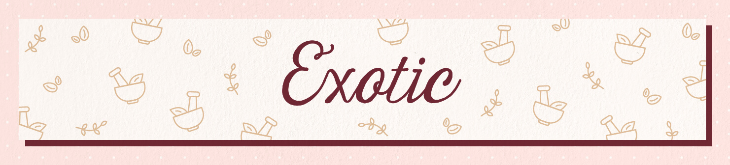 exotic wedding scents header image