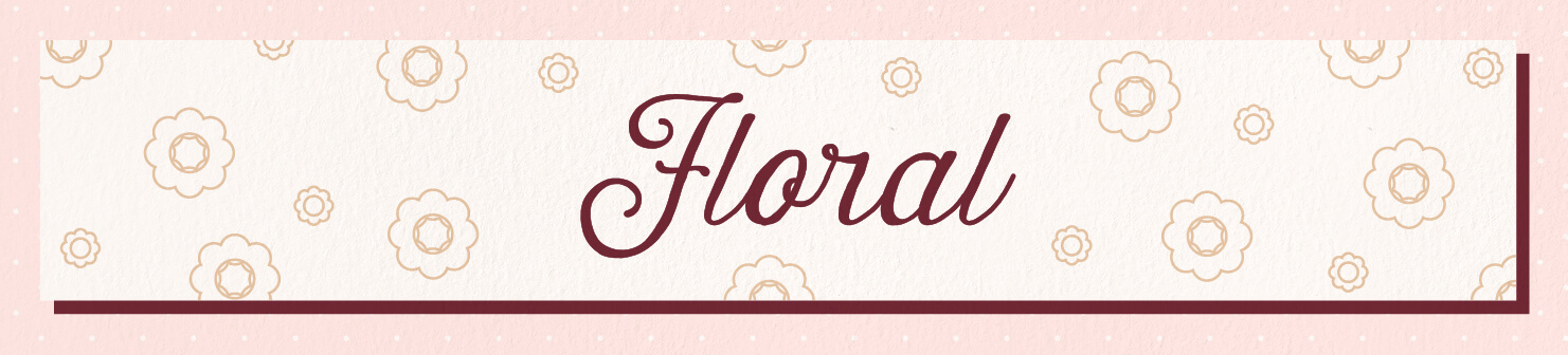 floral wedding scents header image
